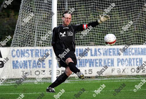 2011-07-27 / Voetbal / seizoen 2011-2012 / KF Mariekerke / Kris Mampaey..Foto: mpics