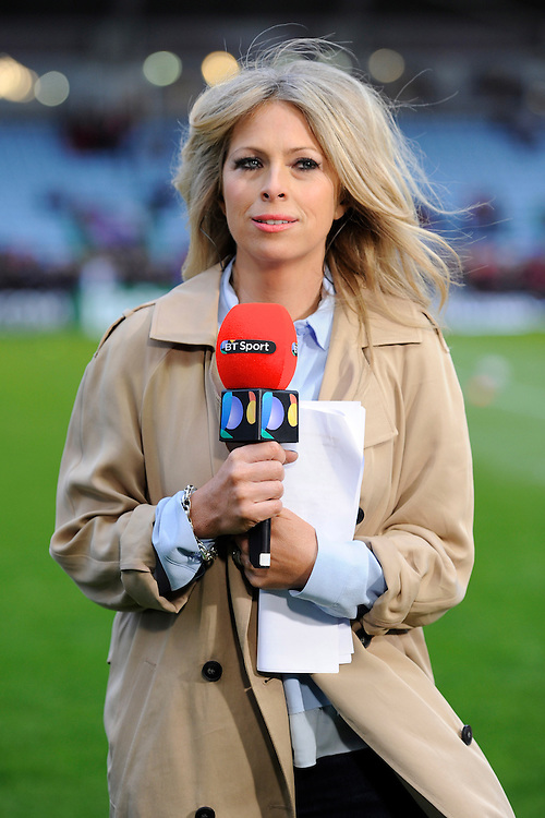 BT Sport Presenter, Sarra Elgan