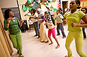 Dora Oliveira Newman's Brazilian Dance - Puxada de Rede - at Bailey Gatzert's afterschool programs.