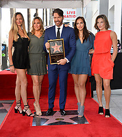 LOS ANGELES, CA. October 24, 2019: Harry Connick Jr., Georgia Connick, Jill Goodacre, Charlotte Connick & Sarah Kate Connick at the Hollywood Walk of Fame Star Ceremony honoring Harry Connick Jr.<br /> Pictures: Paul Smith/Featureflash