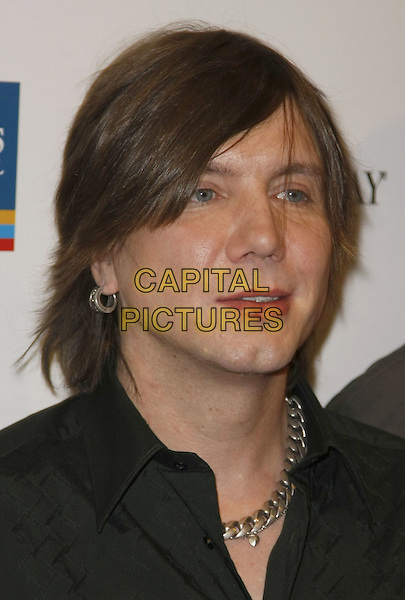 JOHNNY RZEZNIK of Goo Goo Dolls.Lili Claire Foundation Benefit Dinner and Concert featuring the Goo Goo Dolls, Sugar Ray, and Josh Kelly held at Mandalay Bay Hotel and Casino, Las Vegas, Nevada, USA, 26 April, 2008..portrait headshot.CAP/ADM/MJT.©MJT/Admedia/Capital Pictures