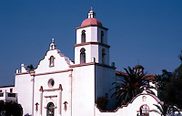 Oceanside: Mission San Luis Rey. Built in 1811. Spanish, Moorish, Mexican architecture. NRHP 1970. Photo '80.
