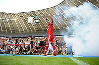 MUNIQUE, ALEMANHA, 23.07.2013 - AMISTOSO - BAYERN DE MUNIQUE X FORTUNA DOUESSELDORF - Thiago Alcantara jogador do Bayern de Munique durante partida contra o Fortuna Douesseldorf em jogo amistoso no Estádio Alianz Arena em Munique nesta terça-feira, 23. (Foto: Bernd Pfeil / Pixathlon / Brazil Photo Press).