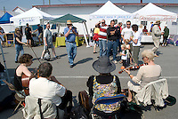Food, crafts, music are all part of Steveston's Sunday Farmers and Artisons Market held in this historic commercial fishing village on the banks of the Fraser River near the city or Vancouver.