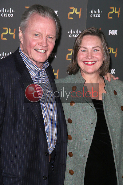 Jon Voight and Cherry Jones<br />