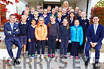 Caherleaheen NS having their Junior Entrepreneurs tour of the Ballygarry Hotel on Friday<br /> L-r, Padraig McGuillycuddy and Tadgh McGuillycuddy.