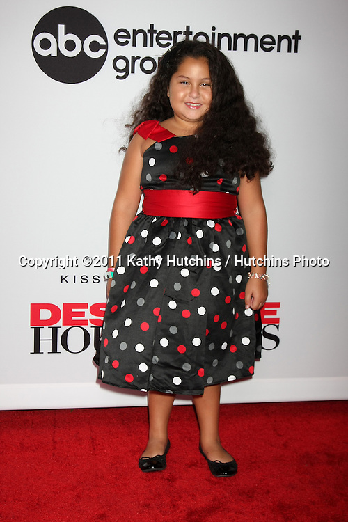 """LOS ANGELES - SEPT 21:  Daniella Baltodano arriving at the """"Desperate Housewives"""" Final Season Kick-Off Party at Wisteria Lane, Universal Studios on September 21, 2011 in Los Angeles, CA"""