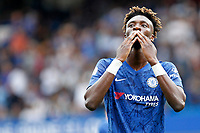 GOAL - Tammy Abraham of Chelsea acknowledges the fans during the Premier League match between Chelsea and Sheff United at Stamford Bridge, London, England on 31 August 2019. Photo by Carlton Myrie / PRiME Media Images.