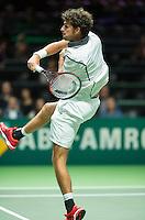 Rotterdam, The Netherlands, Februari 10, 2016,  ABNAMROWTT, Robin Haase (NED)<br /> Photo: Tennisimages/Henk Koster