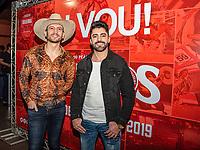 São Paulo (SP), 24/07/2019 - Show / VillaCountry - Os cantores Antony e Gabriel, participam da 64ª festa do Peão de Barretos, no Villa Country, em São Paulo, nesta quarta-feira, 24. (Foto: Bruna Grassi / Brazil Photo Press)
