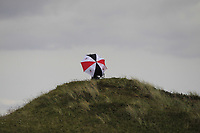 Volunteer on top of a hill on the 5th during Round 1 of the The Amateur Championship 2019 at The Island Golf Club, Co. Dublin on Monday 17th June 2019.<br /> Picture:  Thos Caffrey / Golffile<br /> <br /> All photo usage must carry mandatory copyright credit (© Golffile | Thos Caffrey)