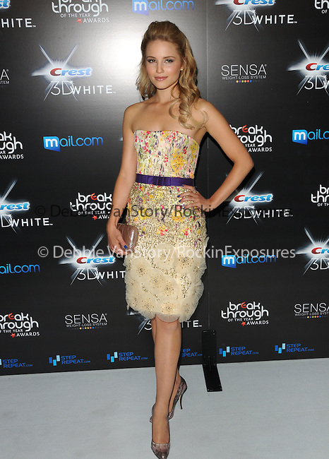 Dianna Agron at the Breakthrough of the Year Awards presented by Crest 3D held at The Pacific Design Center in Beverly Hills, California on August 15,2010                                                                               © 2010 Debbie VanStory / Hollywood Press Agency