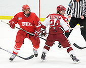 Jordan Kary (Cornell - 17), Luke Greiner (Harvard - 24) - The visiting Cornell University Big Red defeated the Harvard University Crimson 2-1 on Saturday, January 29, 2011, at Bright Hockey Center in Cambridge, Massachusetts.