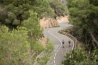 The Tossa de Mar training loop alongside the Costa Brava (Girona / Spain)