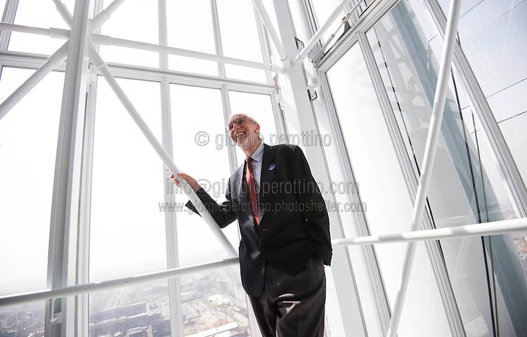 Architect Renzo Piano Intesa Sanpaolo Bank Skyscraper Giorgio