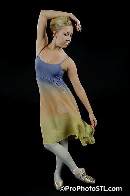 Missouri Ballet Theatre studio shots in color