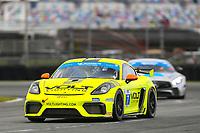 #7 Archangel Motorsports Porsche 718 Cayman GT4, GS: Trent Hindman