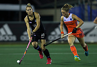Stacey Michelsen during the World Hockey League final between the Netherlands and New Zealand. North Harbour Hockey Stadium, Auckland, New Zealand. Sunday 26 November 2017. Photo:Simon Watts / www.bwmedia.co.nz