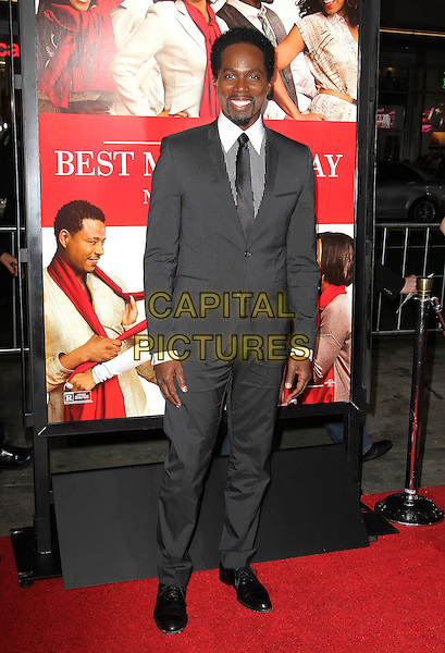 05 November 2013 - Hollywood, California - Harold Perrineau at &quot;The Best Man Holiday&quot; Los Angeles Premiere held at TCL Chinese Theatre on November 5th, 2013<br /> CAP/ADM/KB<br /> &copy;Kevan Brooks/AdMedia/Capital Pictures
