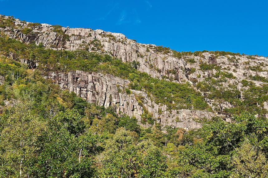 Champlain Mountain, Acadia NP, Maine, ME, USA