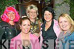 80's Disco: attending the 80's Disco held at The Mermaids Nightclub in Listowel on Friday night last were Deidre Healy, fropnt. Paula Henry, Claire Martyn, Rizzo Kennelly & Sinead Bambury all from Listowel.