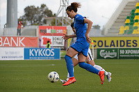 20190304 - LARNACA , CYPRUS : Italian forward Ilaria Mauro pictured during a women's soccer game between Italy and Thailand , on Monday 4 March 2019 at the AEK Arena in Larnaca , Cyprus . This is the third game in group B for both teams during the Cyprus Womens Cup 2019 , a prestigious women soccer tournament as a preparation on the FIFA Women's World Cup 2019 in France . PHOTO SPORTPIX.BE | STIJN AUDOOREN