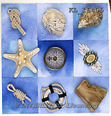 Interlitho, MODERN,napkin,maritime, photos+++++,starfish,marine,KL16405,#n# ,everyday