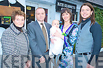 Baby Fionn Doyle, Crohane, Fossa pictured with his parents Deirdre and Jim Doyle, and godparents Bridie Doyle and Martin Ryan at his christening celebration in Kate Kearneys on Saturday.......