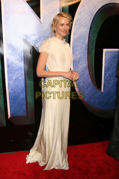 "NAOMI WATTS .Universal Pictures' ""King Kong"" New York City Premiere - Arrivals at Loews E-Walk & AMC Empire Cinemas, New York City..December 5th, 2005 .Ref: IW.full length white dress .www.capitalpictures.com.sales@capitalpictures.com.©Capital Pictures"