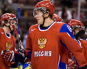 Sergei Andronov (Russia - 16) - Russia defeated the Czech Republic 5-1 on Friday, January 2, 2009, at Scotiabank Place in Kanata (Ottawa), Ontario, during the 2009 World Junior Championship.