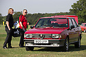 26/07/14 <br /> <br /> Alfa Romeo Giulietta<br /> <br /> Princess Diana's Mini Metro was the star of the show at the first ever Festival of the Unexceptional.<br /> <br /> The car show held near Silverstone celebrated the best examples of the most ordinary cars of late 1960s to mid-1980s Britain.<br /> <br /> Organisers, Hagerty Insurance, said: &quot;Let&rsquo;s celebrate, preserve and enjoy these threatened and endangered pieces of our beige, brown and plaid automotive heritage.<br /> <br />  &quot;There are twice as many Ferraris on the road in the UK than Austin Allegros! We&rsquo;ve brought together the 50 best examples of a wide range of models - an award of dubious value will go to the overall winner.&quot;<br /> <br /> Princess Diana's red 1980 Mini Metro L was photographed many times while she was dating Prince Charles and was affectionately known as the 'courting car'. It has had three owners since it left the Royal fleet, and has clocked-up a very modest 30,000 miles. <br /> <br /> <br /> All Rights Reserved - F Stop Press.  www.fstoppress.com. Tel: +44 (0)1335 300098