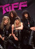 1990: TUFF - Photosession in Hollywood Ca USA
