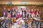 Members of Abbeyfeale Bridge Club enjoying their annual Christmas party last Friday night in Leen's Hotel, Abbeyfeale.