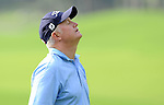 TAIPEI, TAIWAN - NOVEMBER 20:  Roger Chapman of England reacts on the 9th green during day three of the Fubon Senior Open at Miramar Golf & Country Club on November 20, 2011 in Taipei, Taiwan. Photo by Victor Fraile / The Power of Sport Images