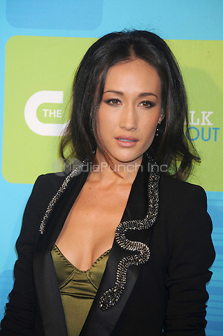 Maggie Q at the 2010 CW Upfront Green Carpet Arrivals at Madison Square Garden in New York City. May 20, 2010.Credit: Dennis Van Tine/MediaPunch