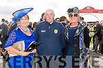 Enjoying Ladies Day at the Listowel Races on Friday were: Betty Stack, Joe Wallace , Ann Fitzgerald from Ardfert