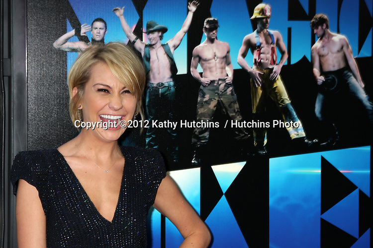 """LOS ANGELES - JUN 24:  Chelsea Kane arrives at the """"Magic Mike"""" LAFF Premiere at Regal Cinema at LA Live on June 24, 2012 in Los Angeles, CA"""