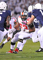 25 October 2014:  The Ohio State Buckeyes defeated the Penn State Nittany Lions 31-24 in 2 OTs at Beaver Stadium in State College, PA.