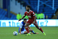 Liam Bridcutt of Nottingham Forest wins the ball during the Sky Bet Championship match between Sheffield Wednesday and Nottingham Forest at Hillsborough, Sheffield, England on 9 September 2017. Photo by Leila Coker / PRiME Media Images.