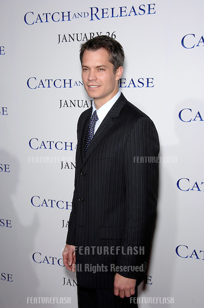 "TIMOTHY OLYPHANT at the world premiere of his new movie ""Catch and Release"" at the Egyptian Theatre, Hollywood..January 22, 2007  Los Angeles, CA.Picture: Paul Smith / Featureflash"
