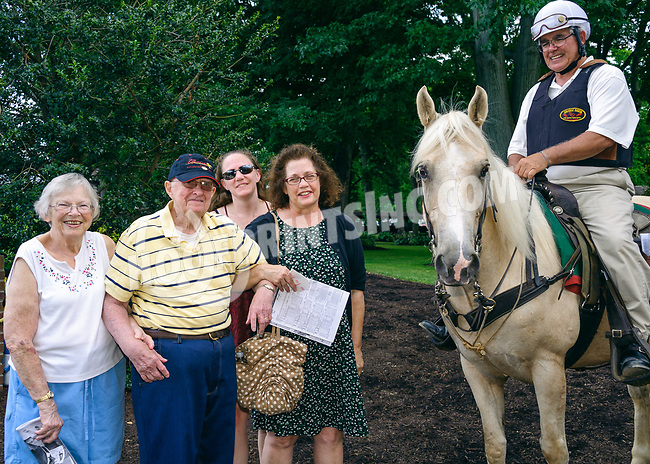 fans with Lou & Nugget at Delaware Park on 7/1/17
