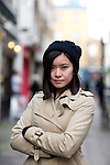 May0067573 . Daily Telegraph<br /> <br /> NOT TO BE SYNDICATED WITHOUT PRIOR PERMISSION FROM PREMIER MANAGEMENT .<br /> <br /> Features<br /> <br /> Katie Leung actress known mainly for the Harry Potter movies and starring in the new BBC One drama One Child .<br /> <br /> London 13 January 2016