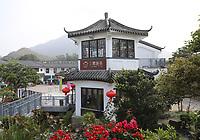 General views of Ngong Ping Village on Lantau Island, Hong Kong on 6.4.19.