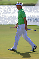 Soren Kjeldsen (DNK) after sinking his putt on 18 during round 2 of the Honda Classic, PGA National, Palm Beach Gardens, West Palm Beach, Florida, USA. 2/24/2017.<br /> Picture: Golffile | Ken Murray<br /> <br /> <br /> All photo usage must carry mandatory copyright credit (&copy; Golffile | Ken Murray)