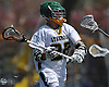 Zach LoCicero #22 of Lynbrook looks to make a pass during a Nassau County varsity boys lacrosse game against Wantagh at Marion Street Elementary School on Wednesday, Apr. 27, 2016. He recorded four goals and four assists in Lynbrook's 14-7 win.
