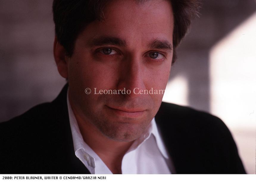 2000: PETER BLAUNER, WRITER © Leonardo Cendamo