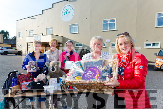 Launching the annual  Indoor Market charity fundraiser in aid of Kerry Parents and friends  at Castleisland Community Centre on 6th October at 8pm were front l-r Betty Walsh and Lisa Gainey, Back l-r Anne Bergin, Bertha O'Sullivan and Nora Fealy