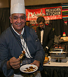 "Chef Jesus ""Chuy"" Gutierrez during Fantasies in Chocolate at the Grand Sierra Resort on Saturday night, November 17, 2018."