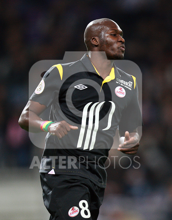 Moussa Sow of Lille..Toulouse v LOSC (Lille), Ligue 1, Stade Municipal, Toulouse, France, 18th November 2011.