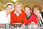 The icing on the cake: Michelle O'Connor tutor of the Christmas Cake workshop at the Listowel Community College on Saturday as part of the Listowel Food Fair pictured with Vourneen Kissane, Lisselton, Ailish Enright, Ardagh and Mary Young, Newcastle West.   Copyright Kerry's Eye 2008